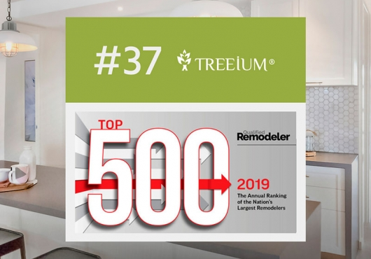 Key Additions to Treeium, Inc. Lands Them on Esteemed Qualified Remodelers Top 500 List Once Again
