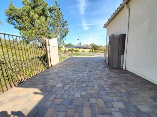 Driveway/Frontyard Remodel using Pavers