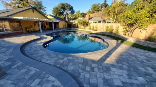 Pool Deck Remodel - Angelus Pavers